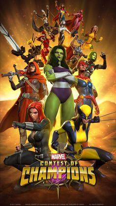 70 Ideas De Marvel Contest Of Champions Marvel Universo Marvel Personajes De Marvel