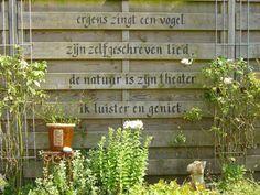 25 Unknown Facts About Dementia Ergens zingt een vogel. Dream Garden, Home And Garden, Garden Deco, Garden Quotes, Diy Pergola, Garden Inspiration, Vegetable Garden, Beautiful Gardens, Outdoor Gardens