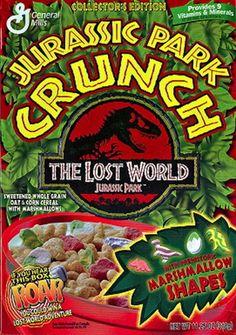 Jurassic Park Lost World Crunch