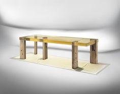 Nucleo Wood Fossil Table Ammann