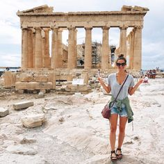 Travel Diary: Greece Honeymoon to Santorini & Athens Greece Honeymoon, Greece Vacation, Greece Travel, Greece Trip, Vacation Travel, Vacations, Santorini Greece, Athens Greece, Santorini Travel