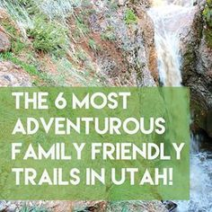 Check out the six most adventurous, family-friendly trails in Utah! These are so cool and all of them fall within 1-2 miles in length!
