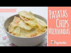 Patatas fritas en microondas - PequeRecetas