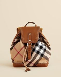 Burberry 'Smoked Check' Hobo bag