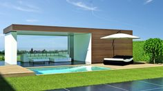 poolhouse bouwen - Google Search
