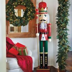 Lighted Nutcrackers
