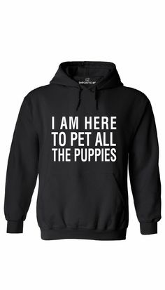 Funny hoodie for puppy lovers! #hilarious #clothing #funny