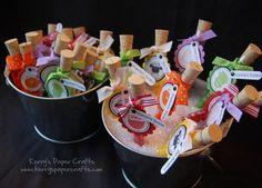 Craft Fair Goodies: Gross Halloween Test Tubes