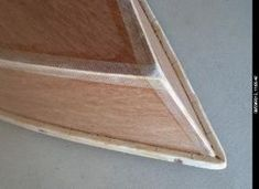 Simple tape and glue, using fiberglas tape and titebond 3 glue. full instructions on PDF
