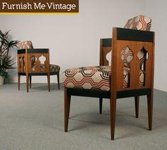 Vintage Mid Century Modern Chairs  http://coastersfurniture.org/shabby-chic-furniture/retro-furniture/
