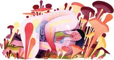 Gorgeous Illustrations by Eleanor Davis | ILLUSTRATION AGE