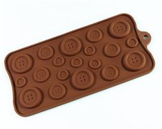 Perfect for proper chocolate buttons.