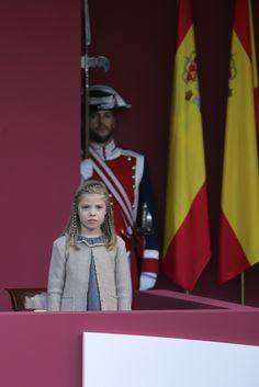 Foro Hispanico de Opiniones sobre la Realeza: La Infanta Doña Sofía durante la Celebración del Día de la Fiesta Nacional (Día de la Hispanidad), Madrid, 12.10.2015