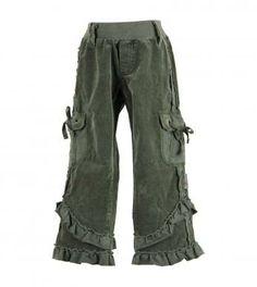 stretch corduroy cargo pants