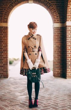 I love this coat style!