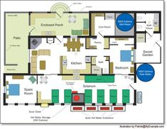 Our Passive Solar House Plans - Version 2 — ByExample.com