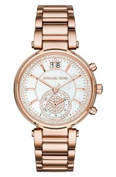 MICHAEL Michael Kors Michael Kors 'Sawyer' Bracelet Watch, 39mm available at #Nordstrom