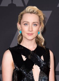 Actress Saoirse Ronan attends the 2017 Governors Awards on November 11 in Hollywood California / AFP PHOTO / VALERIE MACON