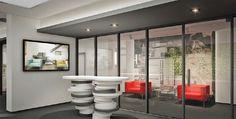 Office Audi, Bathtub, Bathroom, Modern, Design, Standing Bath, Washroom, Bath Tub, Trendy Tree