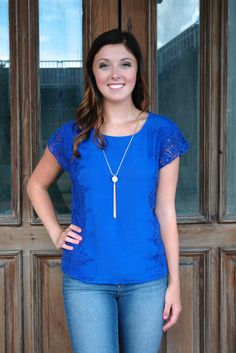 Cobalt Top http://www.shopwildflowerboutique.com/new-products/cobalt-box-top