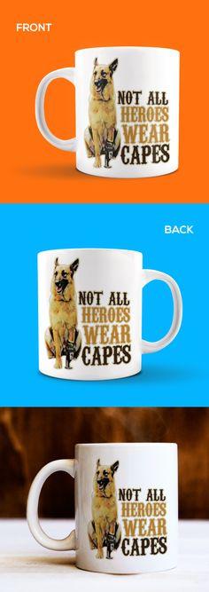 German Shepherd Christmas Coffee Mug 15 oz E/&S Pets Dog Puppy Tea Cup Holiday