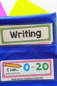 FREE I CAN STATEMENT posters for kindergarten reading writing and more