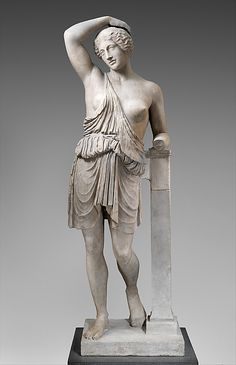 Marble statue of a wounded Amazon. Period: Imperial. Date: 1st–2nd century A.D. Culture: Roman.