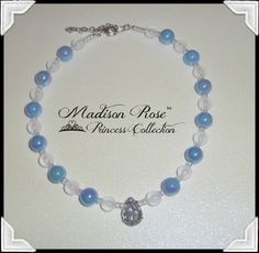 Princess Pendant Necklace from the Madison Rose by Irbella on Etsy, Affordable Jewelry, #PrincessJewelry #PhotoProp #DressUp #Halloween #Cinderella #Snow #Frozen #Ice #Elsa #Fairy