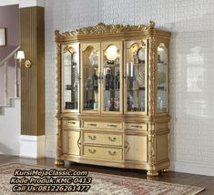 Living Room Display Cabinet, Good China, Meridian Furniture, Gold Furniture, Sideboard Buffet, Table Linens, China Cabinet, Storage, Wood