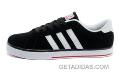 competitive price 8bab0 77500 Confort chaussures de sport Homme Adidas NEO Low Noir Blanche Rouge