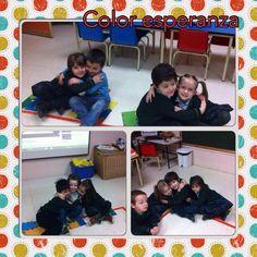 loli santos @lolisan_sanchez  2° de Infantil nos preparamos para celebrar la PAZ #compostelaenruta #salamancaenruta