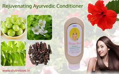Divine Love Ayurvedic Conditioner is formulated in the ancient tradition of Ayurveda, in a base of pure Aloe Vera Gel infused with five Ayurvedic super herbs - Amla, Henna, Fenugreek, Hibiscus and Lemon.