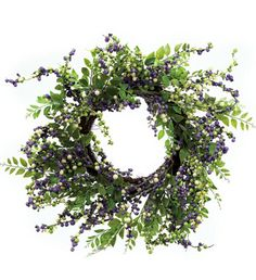 Mix Berry Leaves Wreath