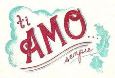 ti amo sempre <3 ~ I love you always  #Italian