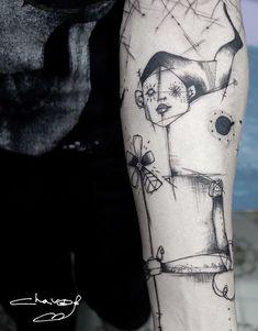 Chavo Sakana tattoo