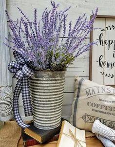 Farmhouse Lavender Arrangement  - Farmhouse Florals