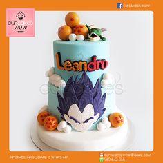 Dragon Ball Z Cake   #EsferasDelDragón #Vegeta #Torta #ShenLong   www.facebook.com/cupcakess.wow