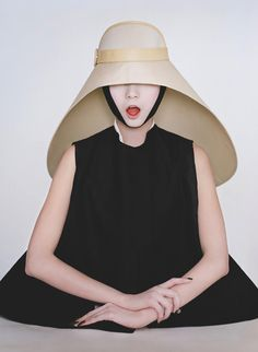 "Balenciaga f/w 2012, Xiao Wen ju by Tim Walker from  his book ""Story Teller"" #fashion #photography #books"