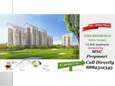 8882512345 CHD Resortico Sector 34 Sohna Launching Soon in 15th July , Floor plans available ,1/2 BHK IN JUST 27/55 lacs  by Mnc Propmart via slideshare