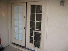 custom doors with doggie door | JELD-WEN® steel and fiberglass ...