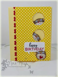 A Creative Touch: Paper Smooches Window Card