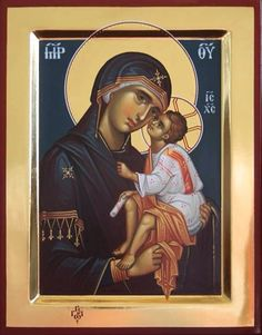 Mother Mary, Mother And Child, True Faith, Byzantine Art, Blessed Virgin Mary, Orthodox Icons, My Prayer, Our Lady, Madonna