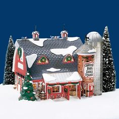 Christmas Tree Village Display, Christmas Village Collections, Christmas Village Houses, Halloween Village, Christmas Villages, Christmas Dance, Christmas Town, A Christmas Story, Christmas Diy