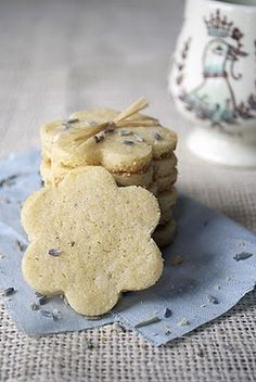 Lavender and Lemon Cookies #lavender