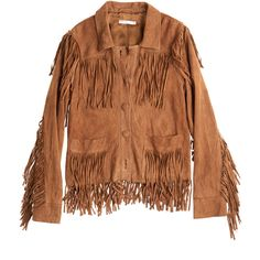 Auden Fringe Suede Jacket in Chestnut Brown Suede Jacket, Leather Jacket, Fringe Jacket, Jacket Buttons, Boho Outfits, Daily Wear, Suede Leather, Boho Chic, My Style
