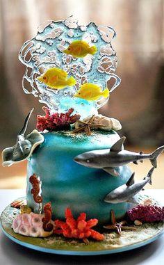 Seaworld Cake                                                                                                                                                                                 Más