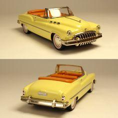 Fifties製 1950'sハンドメイドオープンカー&フィギュア