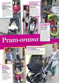 PRINT - Practical Parenting & Pregnancy September 2011: Vox pops – prams