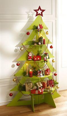 Sapin Noël design, sapin Noël carton à décorer | MOTTEZ