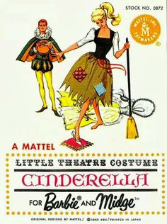 Barbie & Ken, Cinderella and the Prince, Little Theatre Costume Series, (1963)